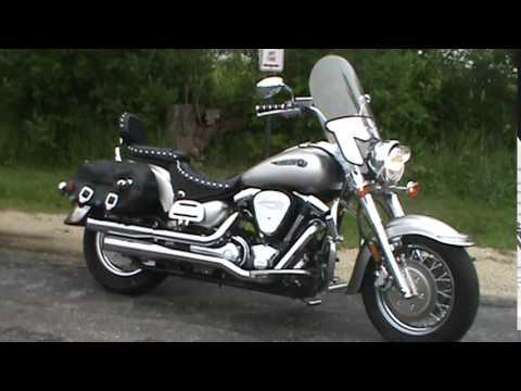 2003 Yamaha Road Star Silverado Silver Edition - YouTube