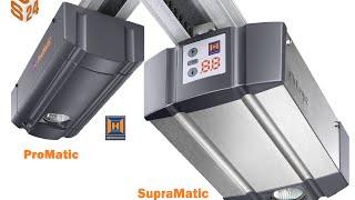 Hormann ProMatic and SupraMatic Garage Door Opener Installation