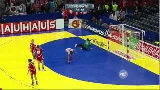 Női kézilabda Európa-bajnokság 2012. 12. 16. Magyarország - Szerbia - mérkőzés a 3. helyért