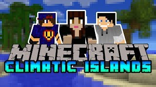 Minecraft Climatic Islands #4 Dom gotowy!  w/ Undecided Madzia