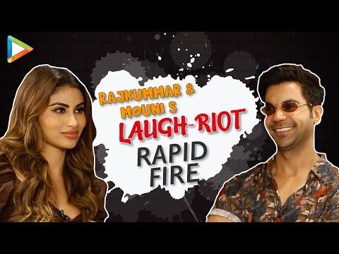 CRAZY- Rajkummar & Mouni's Rapid Fire on SRK, Salman, Hrithik, Alia, Kartik & Vicky | Made In China Mp3
