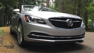 2017 Buick LaCrosse 1st. look on the road around Portland, Oregon