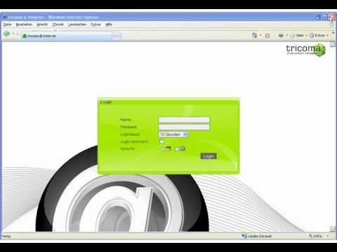erste tricoma Produktvorstellung aus dem Jahr 2007