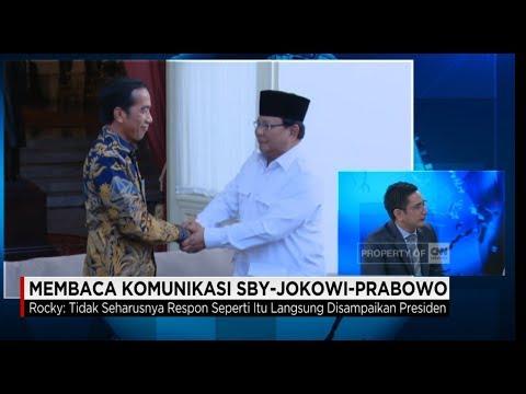 Membaca Komunikasi Raksasa Politik, Jokowi - SBY - Prabowo