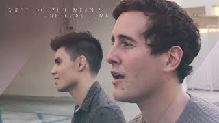 Repeat youtube video What Do You Mean / One Last Time MASHUP (Justin Bieber/Ariana Grande) - Sam Tsui & Casey Breves