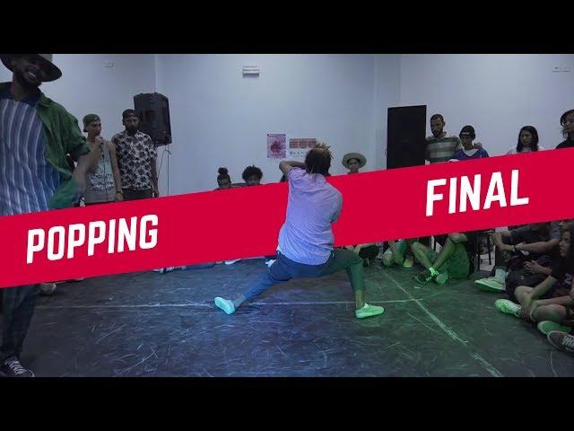 LUFFY vs MED GHAR ♣ 1vs1 Popping Final | Breakreate X Urban Whyz Festival
