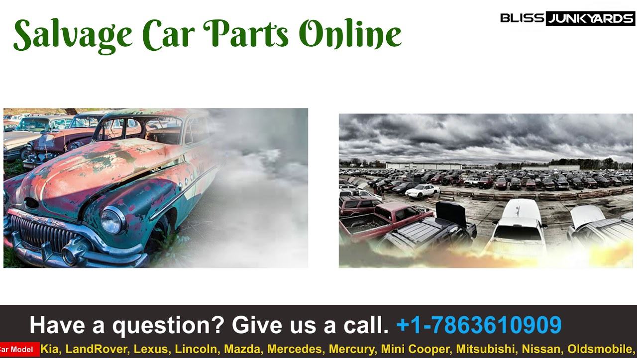 Buy Used Car Parts Junkyards - YouTube