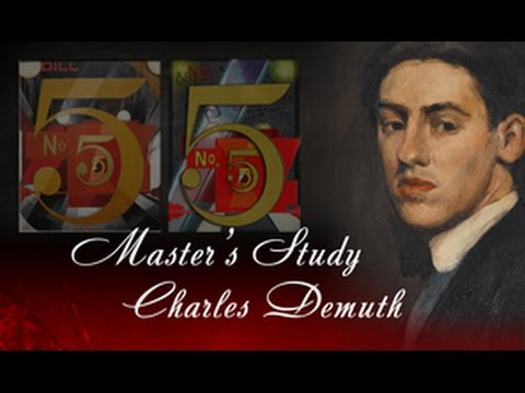 Master's Study Charles Demuth