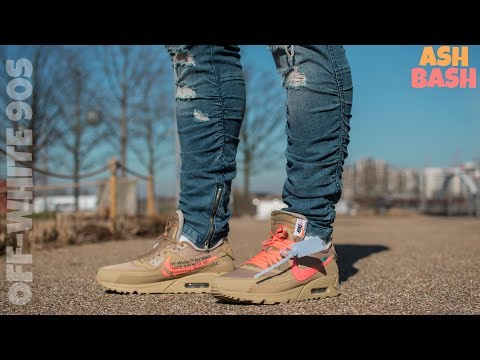 quality design 0ad1f 1495a Review + On Feet | Off-White x Nike Air Max 90 'Desert Ore ...