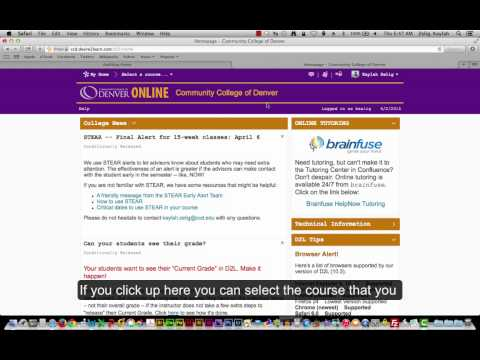 How to Access D2L