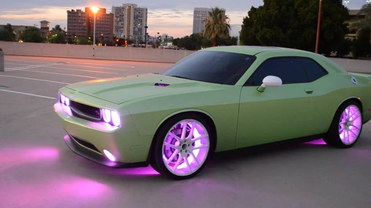 Dodge Challenger R T Oracle Colorshift 2 0 Leds Custom
