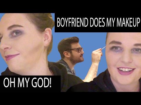 My Boyfriend Does My Makeup! | Rosie Cole