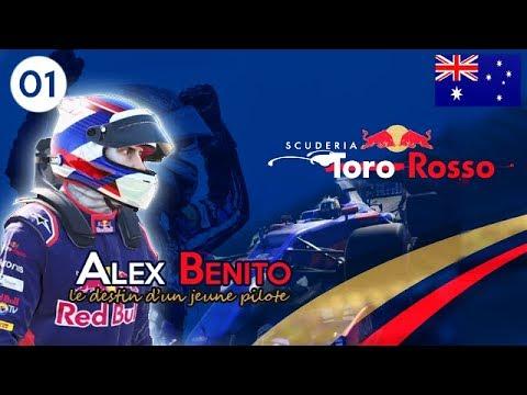 F1 2017 - Mon premier GP chez Toro Rosso ! | AUSTRALIA | S01 E01