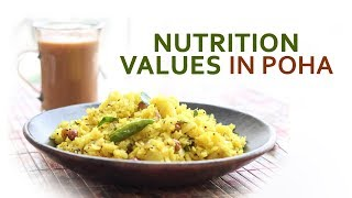 Nutrition values in Poha - Dr. Mohini Chaudhary - Diet talk