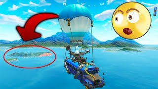 BUG to LEAVE THE MAP in AUTOBUS!! FORTNITE 😱🌌