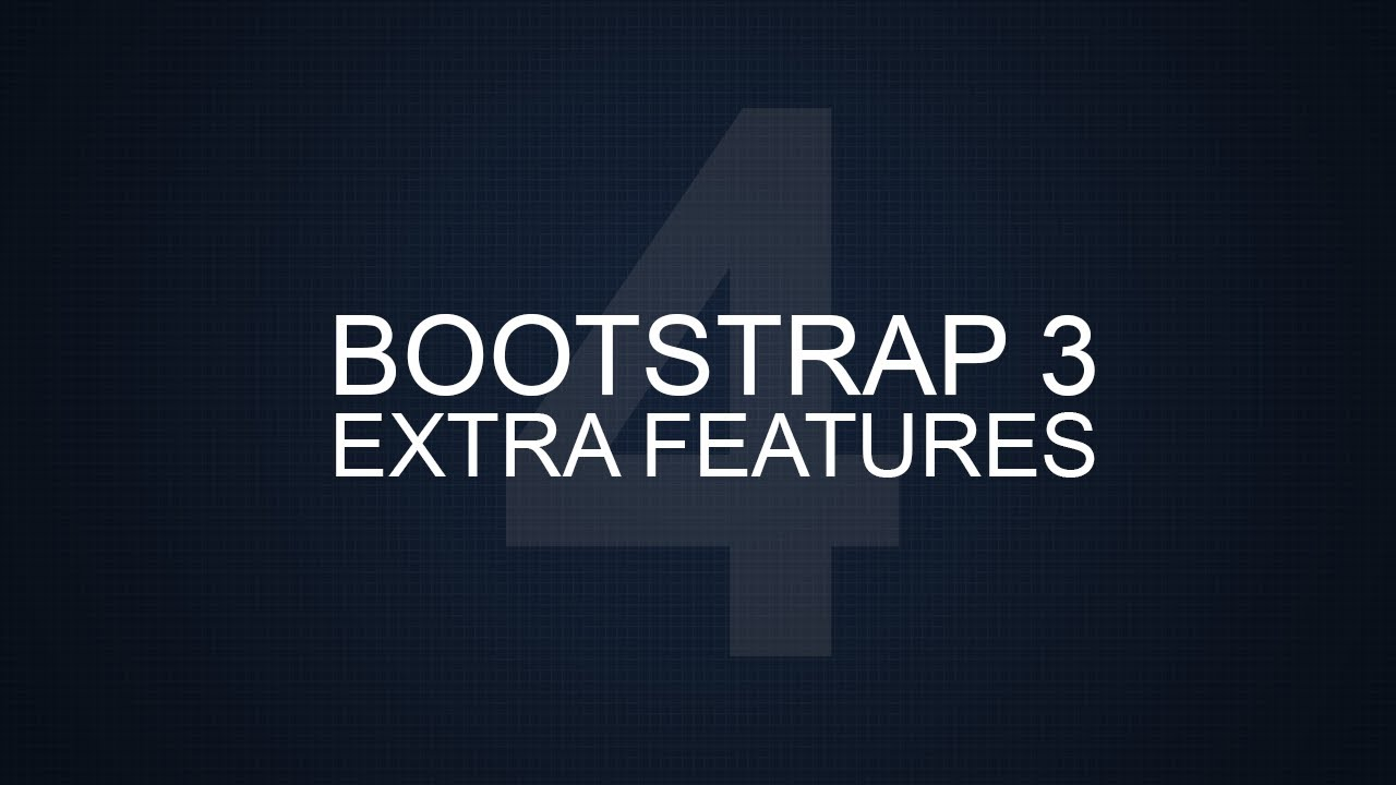 Bootstrap 3 Extra Tutorials - #4 - Carousel (Image Slider)