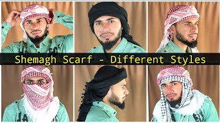 Eid Special - H๐w to Tie Shemagh Scarf | Different Styles Tutorial | AL Aamir Khan