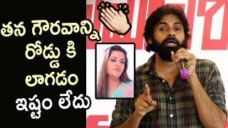 Pawan Kalyan Respect Towards Renu Desai and Women @Jana Sainik Meet - Filmyfocus.com