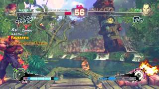 Ultra Street Fighter IV (Xbox 360) Arcade as Evil Ryu