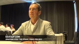 Jonathan Hyde THE STRAIN Comic Con 2015 Interview