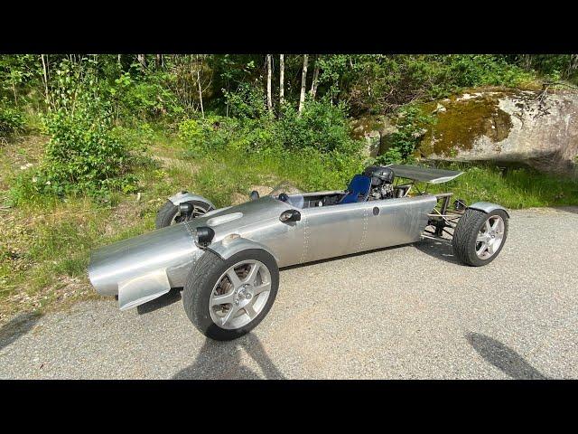 Home made Street Legal Formel 1 car! - VLog132