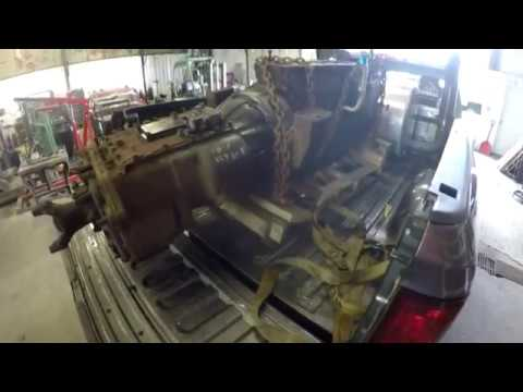 Ford F750 Haul Truck Build Part 25