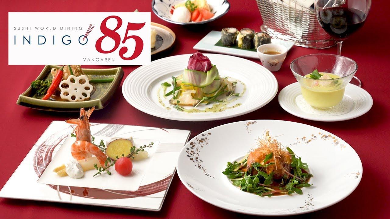 Sushi rolls and T-bone steak in Utsunomiya