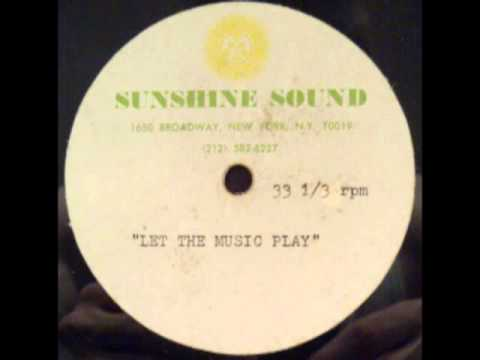 Giorgio Moroder_Let The Music Play_Promo Acetate Remix