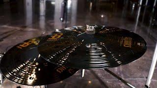 """Classics Custom Heavy Dark 18"""" Crash by Meinl Cymbals CC18HDAC"""