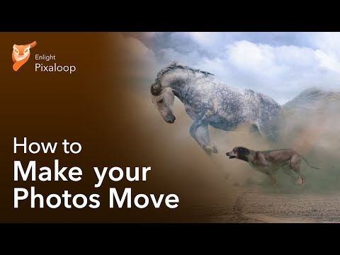 How to Make Photos Move with Pixaloop!