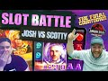 ONLINE SLOTS BATTLE!! Josh Vs Scotty! Dawn Of Egypt, Final Countdown And More!