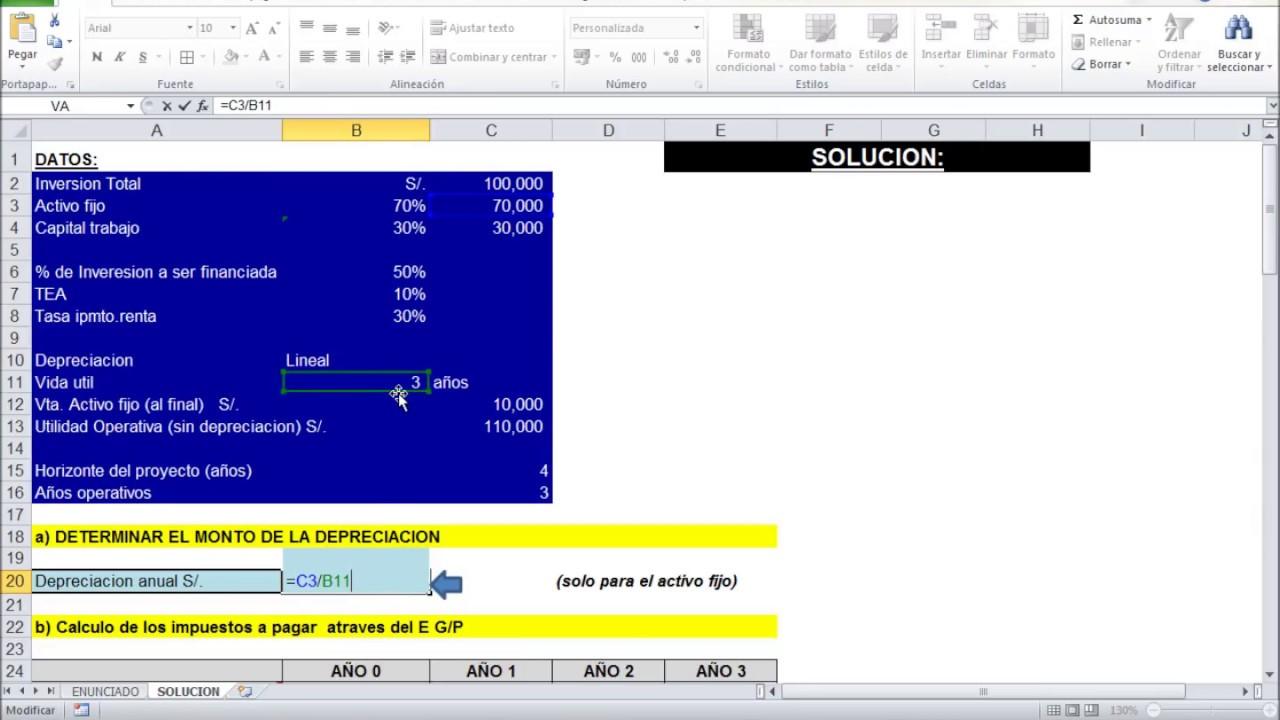 FLUJO DE FONDOS DE UN PROYECTO DE INVERSION - YouTube