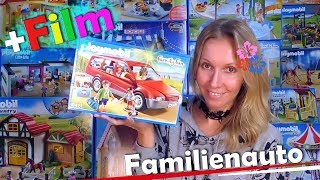 PLAYMOBIL 🚗 Rotes Auto 9421 👨‍👩‍👧‍👦+ extra Playmobil Film deutsch 🎥 Unboxing Family Fun