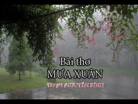 Mưa Xuân (thơ ;Nguyễn Bính)