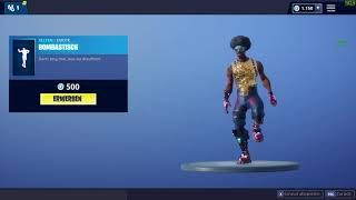 Fortnite *NEU* Bombastisch Tanz - Bombastic Emote Dance Epic 500 Vbucks ItemShop 26.11.2018