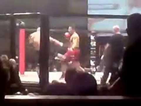 Alex Reid vs Jack Mason at Cage Rage / Ultimate fighter- Troxy 19/9/09