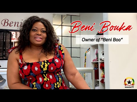 Beni Boo Styles - One Of The First African Fashion Boutiques in Toronto, Canada.