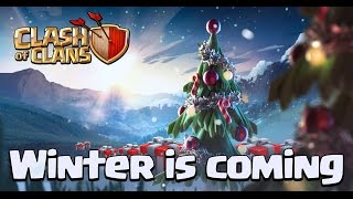 Clash Of Clans Mise A Jour Noel 2014 / Extracteur Et Mine niv 12 / Geant 7 !