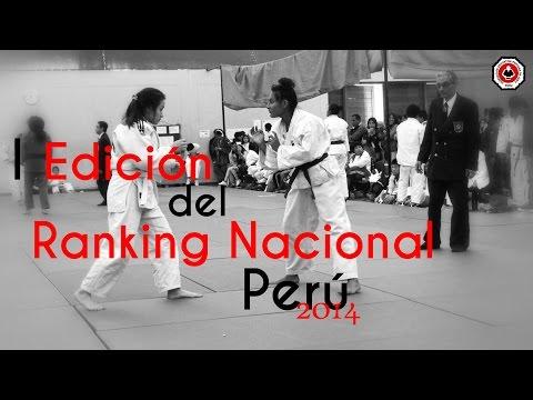 Highlights - Torneo Judo Ranking Nacional Peru 2014 - FDPJ