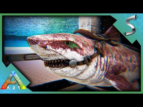 BUILDING THE WATER BREEDING PENS! BASE EXPANSION! - Ark: Survival Evolved [S4E82]