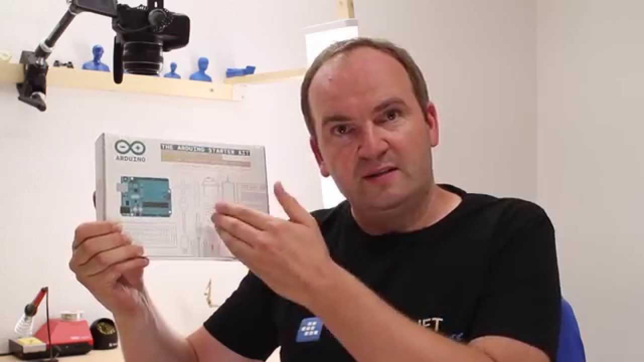 Arduino starter kit deutsch unboxing starterkit für