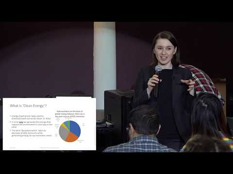 THE ROLE OF NATURAL GAS IN DECARBONIZATION. 20.03.19 Irina Mironova