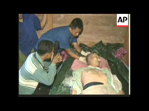 CAMBODIA: BODY OF POL POT EXAMINED TO CONFIRM HIS IDENTITY