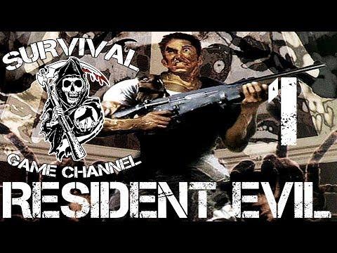 Прохождение Resident Evil 1 [1080p] — Часть 1: Классический особняк