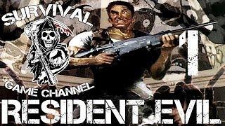 Прохождение Resident Evil 1 1080p Часть 1 Классический особняк