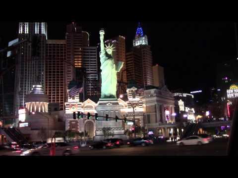 New York New York red Light Las Vegas