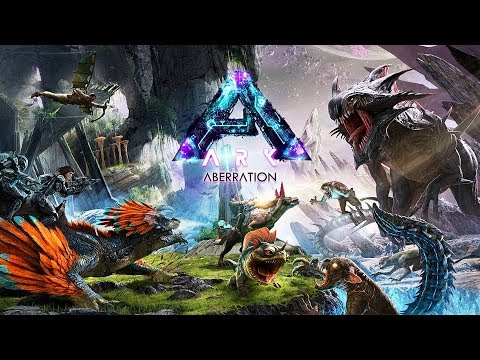 ARK: Survival Evolved - NEW DINOSAUR PLANET!! (ARK Aberration)