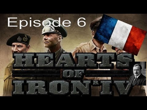 Hearts of Iron 4 - French Defense Episode 6 - War Is Upon Us...