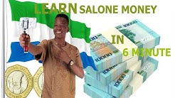 GET ALL SIERRA LEONE CURRENCY (MONEY) IN 6 MINUTE ||VLOG