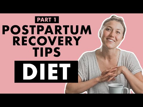 #1 Tip for Better POSTPARTUM Recovery: DIET | Birth Doula